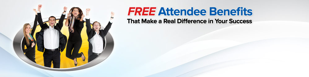 Great Attendee Benefits