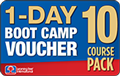 1-DAY BOOT CAMP Voucher 10 Pack