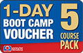 1-DAY BOOT CAMP Voucher 5 Pack